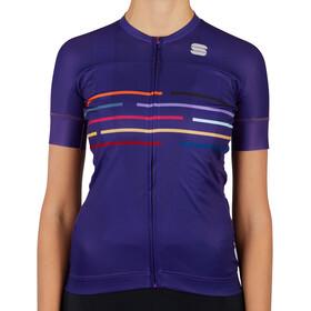 Sportful Vélodrome Short Sleeve Jersey Women, violet